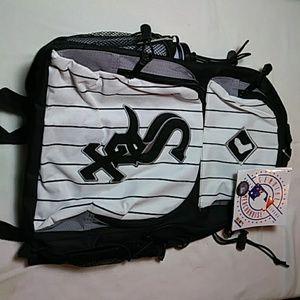Genuine Major League Merch. White Sox backpack